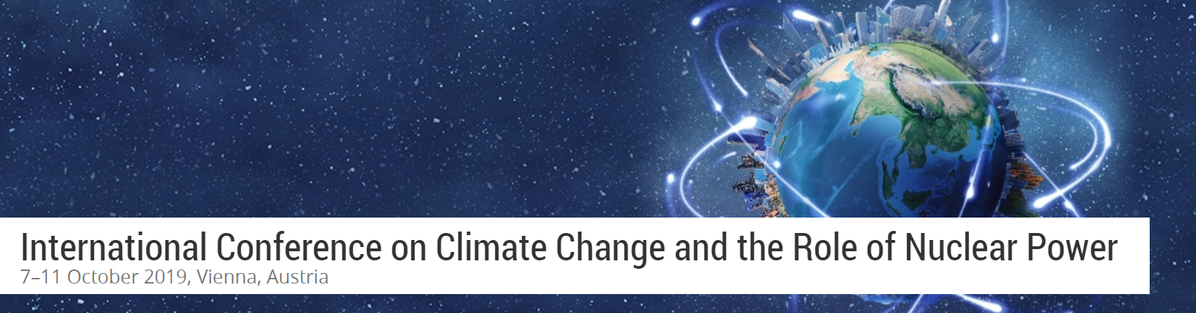 International Conference on Climate Change and the Role of Nuclear Power